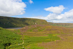 Landscape of Wicklow Mountains, Ireland Royalty Free Stock Images