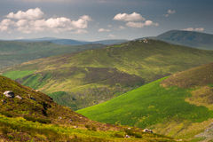 Landscape of Wicklow Mountains, Ireland Stock Photos