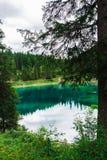 Landscape the wild nature lake Misurina Royalty Free Stock Images