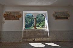 Landscape through windows Royalty Free Stock Photos