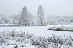 landscape winter Στοκ φωτογραφίες με δικαίωμα ελεύθερης χρήσης