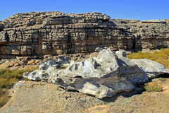 Landscape of Wolfberg Cracks in Cederberg. Nature reserve, South Africa Stock Photo