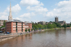 Landscape and worcester Stock Image