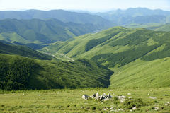 Landscape of Wutaishan Royalty Free Stock Photography