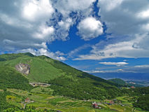 Landscape of Yang-Ming Mountain Stock Photography