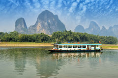 Landscape in Yangshuo Guilin Royalty Free Stock Images