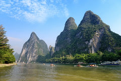 Landscape in Yangshuo Guilin Royalty Free Stock Photography