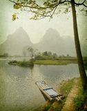 Landscape in Yangshuo Guilin. China Stock Photography