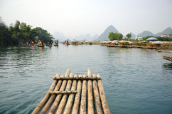 Landscape in Yangshuo Guilin, China Royalty Free Stock Photography