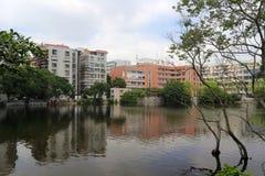 Landscape of yanwu primary school, amoy city, china Royalty Free Stock Photo