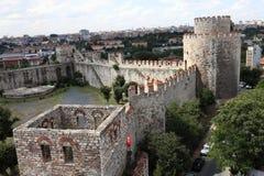 Landscape of Yedikule Fortress Royalty Free Stock Image