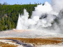 US National Parks, Yellowstone National Park. Landscape in Yellowstone National Park, Wyoming. US National Parks. USA Travel Attraction stock photo