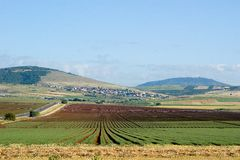 Landscape of Yezreel Valley Royalty Free Stock Photo