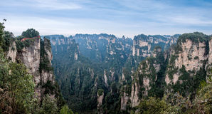 Landscape of Yuanjiajie, Zhangjiajie National Forest Park, Stock Photos