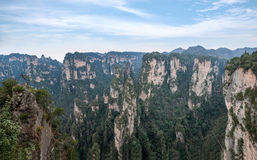 Landscape of Yuanjiajie, Zhangjiajie National Forest Park, Stock Photo