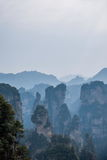Landscape of Yuanjiajie, Zhangjiajie National Forest Park, Stock Images