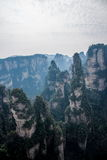 Landscape of Yuanjiajie, Zhangjiajie National Forest Park, Stock Photography