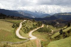 Landscape in Yunnan, China Stock Image