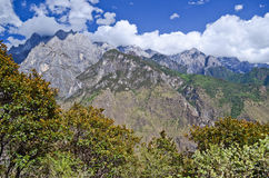 Landscape of Yunnan China Royalty Free Stock Image
