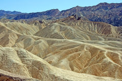 Landscape from Zabriskie Point Stock Photos