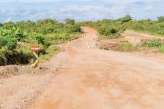 Landscape in Zambia Stock Photo