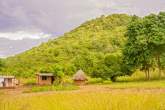 Landscape in Zambia Royalty Free Stock Images