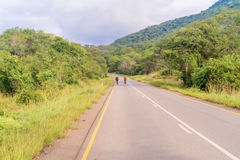 Landscape in Zambia Royalty Free Stock Photography