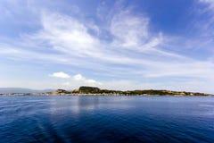 Landscape of zante island Stock Photography