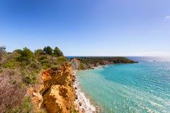 Landscape of zante island Stock Images