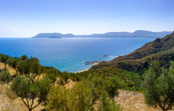 Landscape of zante island Royalty Free Stock Photo