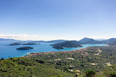 Landscape of zante island Stock Images