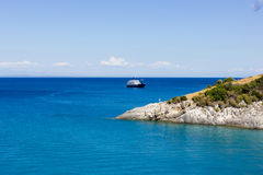 Landscape of zante island,Greece Stock Images