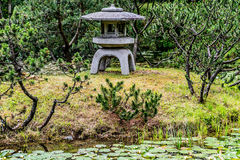 Landscape of Zen garden Stock Photography