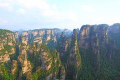 Landscape in Zhangjiajie of China Royalty Free Stock Image