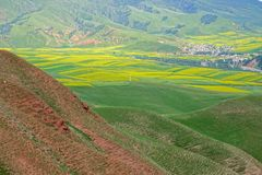 Qilian scenery royalty free stock photo