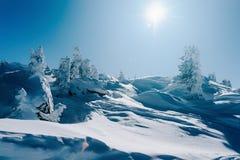 Landscape of Zillertal Arena ski resort in Tyrol Austria. Landscape of Zillertal Arena ski resort in Zillertal in Tyrol. Mayrhofen in Austria in winter in Alps stock images