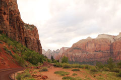 Landscape at Zion Royalty Free Stock Photos