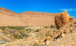 Landscape of Ziz Valley, Morocco Royalty Free Stock Photo