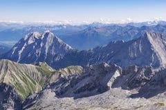 Landscape Zugspitze Stock Photo