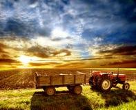 landscaped земледелие Стоковые Фотографии RF