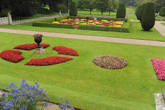 Landscaped сад Стоковые Фотографии RF