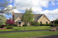 Landscaped Executive Estate Royalty Free Stock Photos