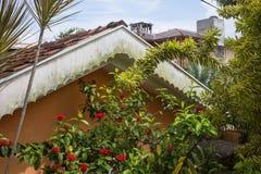 Landscaped flower garden Royalty Free Stock Photos