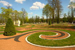 Landscaped garden Royalty Free Stock Image