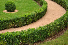 Landscaped Garden Detail Stock Images
