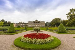Landscaped gardens in Tatton Park. Stock Image