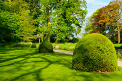 Landscaped Park Stock Photo