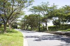 Landscaped Road, Brunei Stock Images