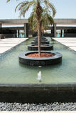 Landscaped Water Feature Royalty Free Stock Photos