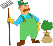 Landscaper Stock Photography